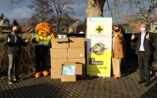 donatie mondmaskers Vlaamse Kruis PSA Antwerp